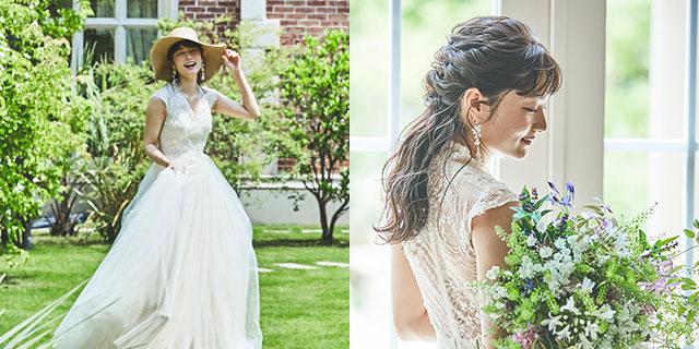 VIVIAN bridesのドレス